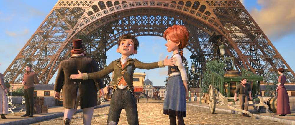 Forgettable animated movie \'Leap!\' limps into theaters - Las Vegas ...