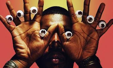 Electronic wizard Flying Lotus gets in your face—3D style—at Brooklyn Bowl on October 26.