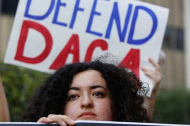 People whose DACA status expires between now and March 5 have until October 5 to renew their forms, which will be evaluated on a case-by-case basis.