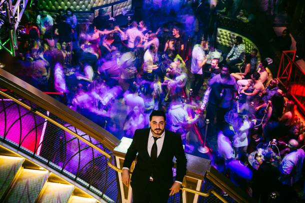 Zaher Fakih has created a Vegas Latin music hub at Embassy Nightclub.