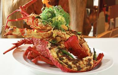 The Wynn retreat offers one of the most spectacular seafood experiences you'll ever have.