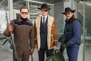 It features the return of Colin Firth as Eggsy's mentor Harry Hart, despite having been shot point blank in the head and left for dead in the first movie.