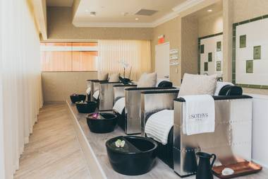 The resort is known for its friendly and hospitable staff, and Sothys Spa continues that standard.