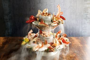 "Sharing a seafood tower in the ""treehouse"" is a rite of passage."