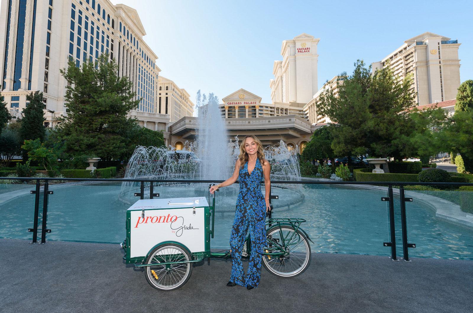 Giada takes the next step with Pronto at Caesars Palace - Las Vegas ...