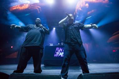Above all, Killer Mike and El-P were personable during their rambunctious set.