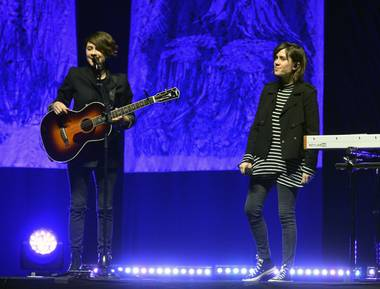 "Tegan and Sara treated Saturday's show as a sort of storytelling session, addressing 2007 album ""The Con""—and anything tangential to it."