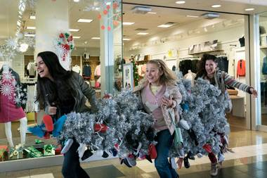 The Bad Moms go Christmas shopping.