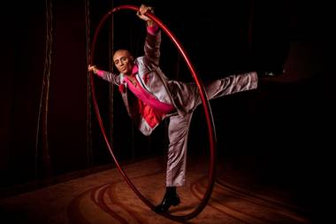 """The Cyr wheel is a mystical apparatus. There's something about whirling dervishes that is very entrancing."""