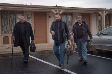 Fishburne, Cranston and Carell hit the road.