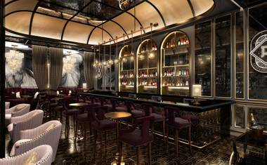 The classic cocktail bar is set to open at Palazzo in December.