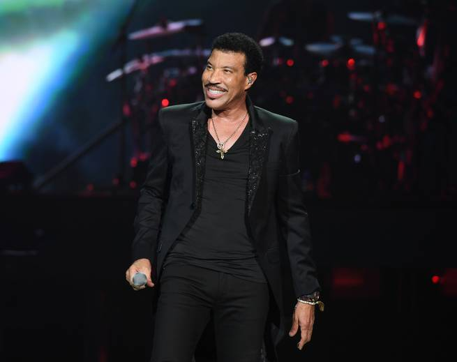 Lionel Richie performs at Planet Hollywood November 29-December 16.