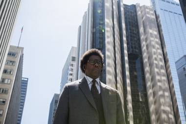 Washington pounds the pavement in Roman J. Israel, Esq..