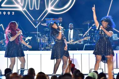 Tune into BET on November 26 to catch the music spectacular held at Orleans Arena on November 5.