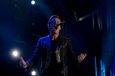 Brandon Flowers and company return to the Vegas stage on December 11.