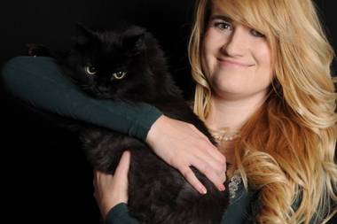 Owner Rhi Gladney was inspired by Portland's Purringtons Cat Lounge.