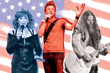 From Gary Allan to Jamey Johnson to Alabama and beyond.