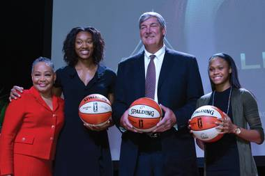 The city's new WNBA team unveiled its name and logo this week at the House of Blues.