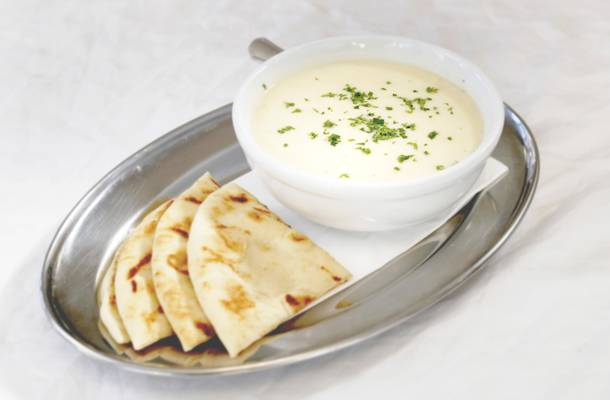 Avgolemono at Meraki Greek Grill
