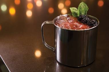 The Twig & Berries Holiday Mule will make your season bright.
