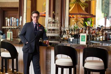 Andrew Pollard is assistant director of beverage development at Wynn.
