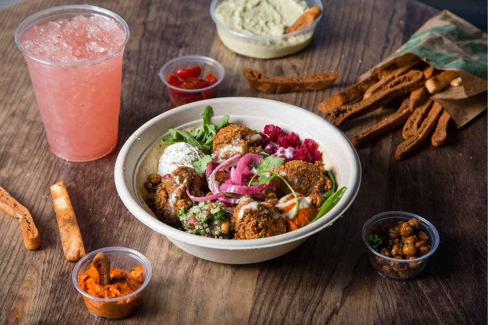 Hummus Bowls & Wraps combines a scratch kitchen with a fast-casual ...