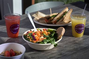 Ramir De Castro's healthy eatery got its start when he began to prepare family meals at Yonaka.