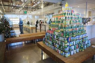 One customer alone brought in 1,000 cans.
