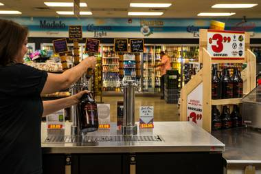 Last year, four location added growler fill stations, rotating in kegs of Pizza Port's Bacon & Eggs coffee porter, Lovelady's peanut butter-laced Paleo Porter and more.