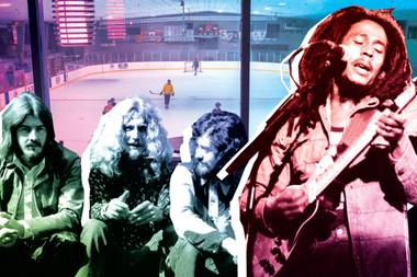 Led Zeppelin, the Grateful Dead and Bob Marley all played concerts there.