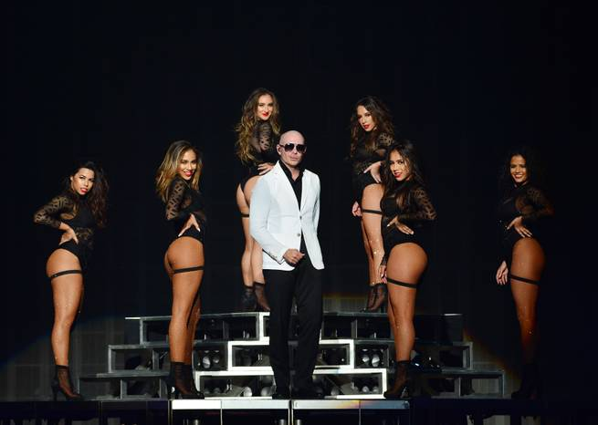Pitbull returns to his Vegas home at Planet Hollywood this month.