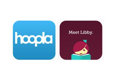 Hoopla and Libby by OverDrive offer instant access to your library's digital content.