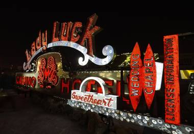 The Neon Museum's Brilliant! new look.