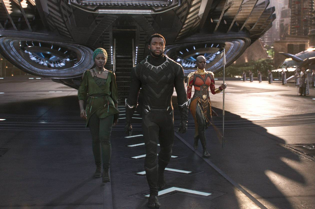 The stars of Black Panther lead the MCU into the future.