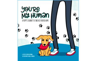 Kevin MacKinnon plans to self-publish You're My Human to help pets find forever homes.