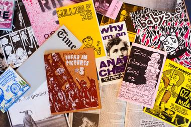 Zines were what the blogosphere was to the early aughts—a real-life, pre-Internet era Tumblr.