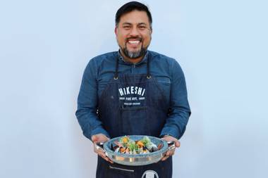 If you don't get excited about food when listening to Ricardo Zarate talk about what he's doing at his new Once restaurant at the Palazzo, you might be dead inside.