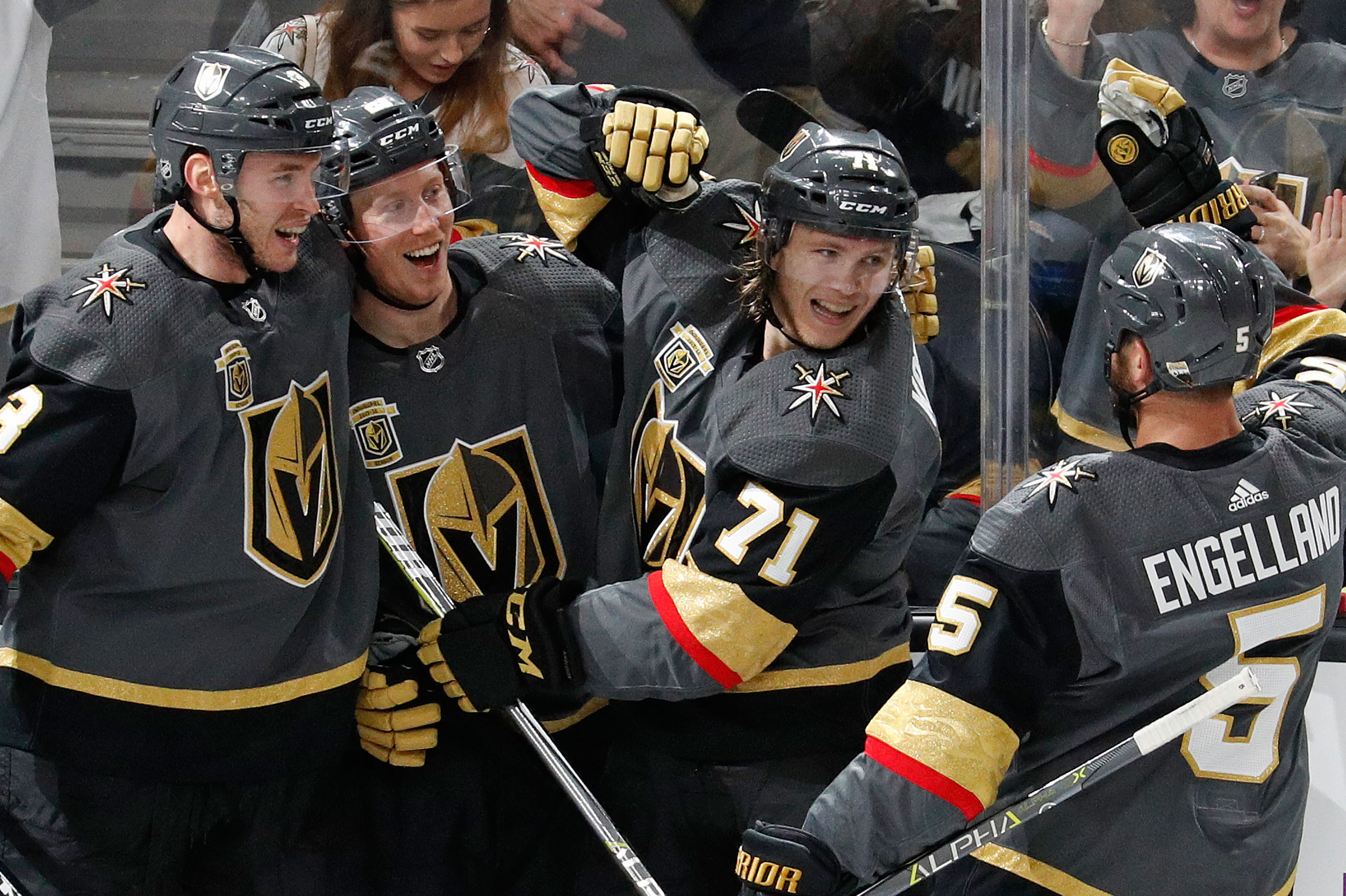 ddae471a248 The Golden Knights' auspicious first season moves into its Stanley ...