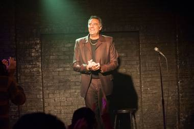 Brad Garrett played his first Vegas gig in 1986 and opened his comedy club here in 2010.