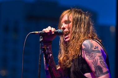 Against Me! Plays the main stage on Monday.