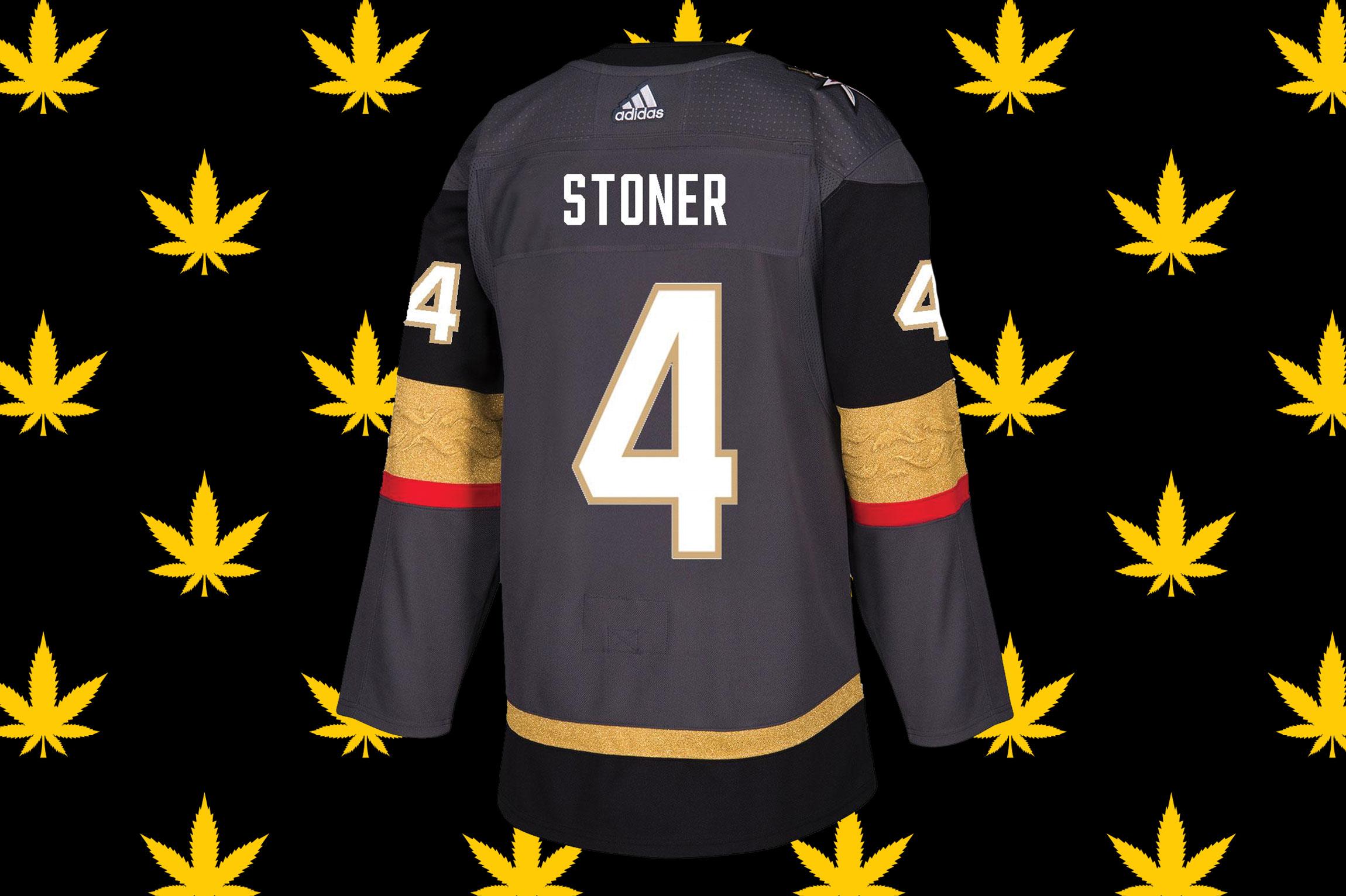 Big hit merch: Clayton Stoner's in-demand jersey - Las Vegas Weekly