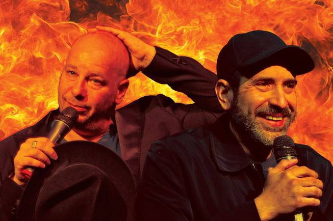 Jeff Ross and Dave Attell