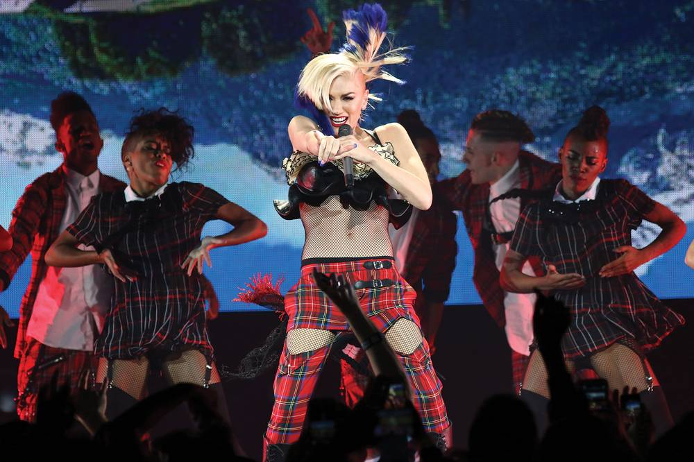 Gwen Stefani's ongoing journey brings her to Planet