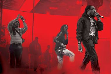 Migos performs at Drai's on June 30.