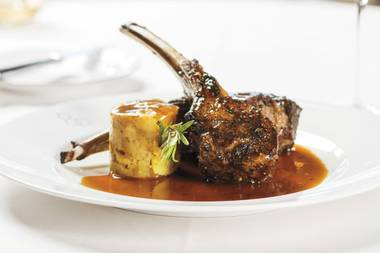 Scotch 80 Prime's lamb chops will make your night.