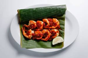 Malaysian style barbecue shrimp from Island Malaysian Cuisine