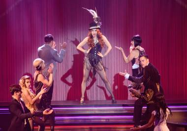 Anne Martinez curently plays Satine in Baz and is bringing her own show, Alice, back to the Red Rock Resort in August.