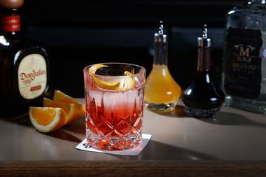 Best New Old Fashioned: Smoke on the Water at Sand Dollar Lounge