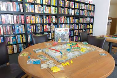Best Place to Play Risk: Meepleville Board Game Cafe