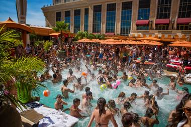 Tao Beach has launched Cielo Sundays, the Strip's only Latin-themed pool party.